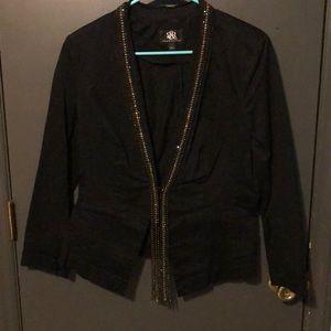 Rock & Republic Jackets & Coats - Rhinestone encrusted black blazer